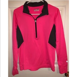 Under Armour semi-fitted quarter zip sweatshirt